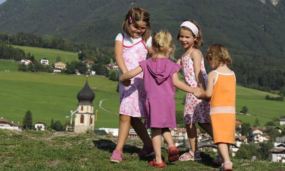 Unforgettable family holidays in South Tyrol at the family farm in Castelrotto